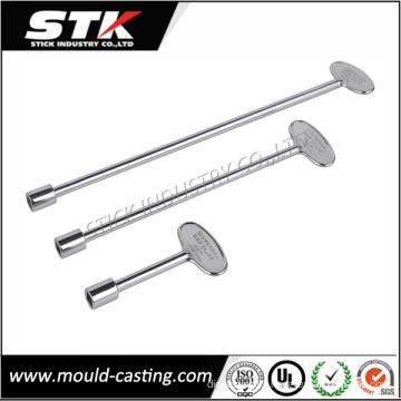 Hot Sale Zinc Alloy Door Key for Lock Parts (STK-ZDL0004)
