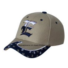 High Quilty 100% Cotton 3D Embroidery Baseball Cap