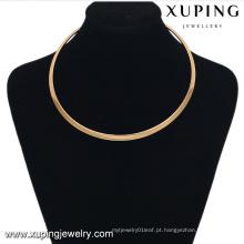 42997 colar de colar de jóias de ouro quente para as mulheres