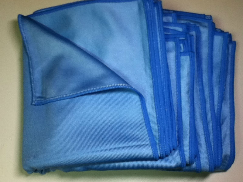 Wholesale Microfiber Glass Cleaning Cloth