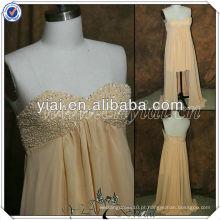 PP2705 Mais novo querido Frente Curto Longo Long Evening Gowns 2014