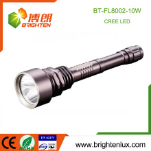 Bester Verkauf Camping Gebrauch Heavy Duty Wiederaufladbare 18650 Lithium Batterie Die meisten leistungsstarke 10w Bright CE xml t6 LED Taschenlampe