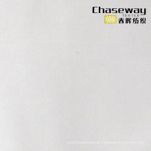 Seide Look 100% Baumwollgewebe Weiß Shirt Stoff