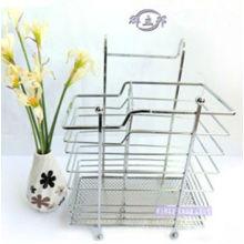 Cozinha Iron Wire Chopsticks Rack / titular de batom / titular de colher de metal