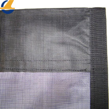 Pvc Coated Blockout Mesh Tarpaulin