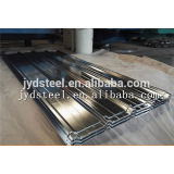 hot dip galvanized roof sheet/zero spangle trapezoid type metal sheet
