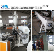 HDPE Water and Gas Pipe Plastic Pipe Extruding Machinery