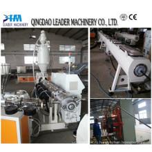 Трубы воды и газа HDPE пластиковые трубы Прессуя машины