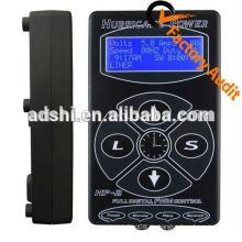 Tattoo Netzteil Hurricane HP-2 Netzteil Tattoo Digital Dual Power Supply Schwarz Tattoo Power Unit