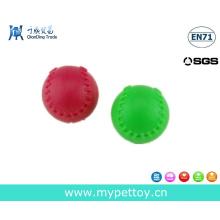 Soft Rubber Ball Squeaker Pet Toy