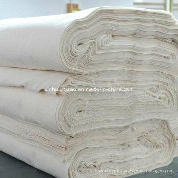 Tissu gris / tissu tissé / tissu en coton / Polyester tissu tissu de T/C