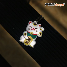 Safety Reflective Plutus Cat High Bright Keychain