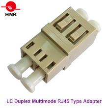 LC Duplex RJ45 Typ Multimode Faseroptik Adapter