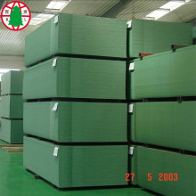 Waterproof+MDF+moisture+proof+green+color+MDF