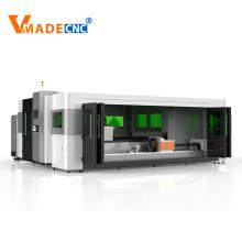 1530 Aluminium 4000w 6000w Faserlaserschneidemaschine