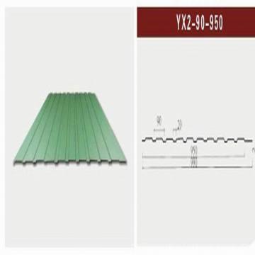 Feuilles en acier galvanisé ondulé (XGZ-24)