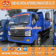 FOTON Marke 4x2 8m3 102hp Kipper LKW 4-5 Tonnen gute Qualität und niedriger Preis für Verkauf in China