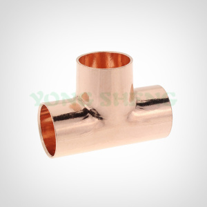 Copper Fittings Equal Tee