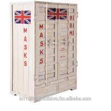 UK Flag Icon Vintage Locker