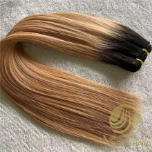Cheap machine weft hair extensions