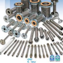 Mangueira de metal flexível para uso industrial e tubulação geral. Fabricado pela Tofle Co., Inc. Fabricado no Japão (mangueira de ferro a vapor)
