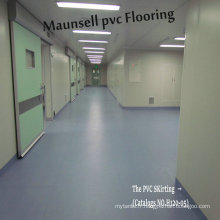 Professional PVC Sheet / Roll Hôpital et sol médical Intérieur Utilisé