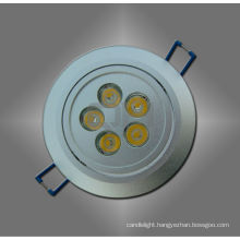 White/ Warm White 5W LED Ceiling Spotlight for Housing Long Lifespan