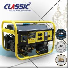 Genset Portable Generators For Home, Certificated Single Cylinder Gasoline Powered Generator, 4 Stroke 2kva Electric Generator