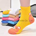 Cat Desigs Kid Cotton Socks