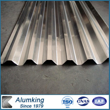 Feuille ondulée en aluminium pour toiture