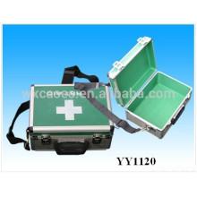 aluminio de alta calidad médica llevando casos con correa para el hombro
