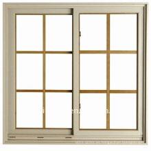 wanjia upvc ventana diseño de la parrilla