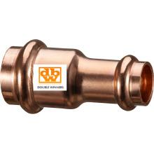 Acoplador reduzido da imprensa de cobre, de 22 X 15mm a 54 x 42mm