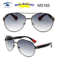 2016 New Design Designer Metal Sunglasses for Man (MS165)