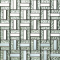 Silver Color Mix Aluminium Glass Mosaic