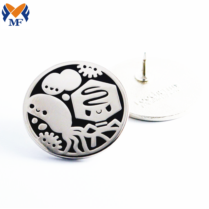 Microbiology Enamel Pin