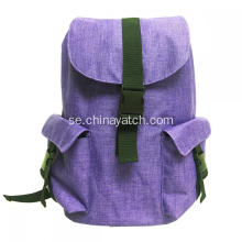 600D Flap Leisure Big Capacity Backpack