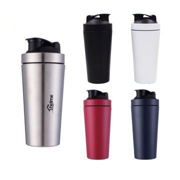 Free Shipping Stainless Steel Protein Shaker Bottle On Whey Protein for Fitness Gym Bottle