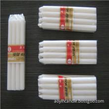 Cheap Paraffin Wax Pillar Wholesale White Candle