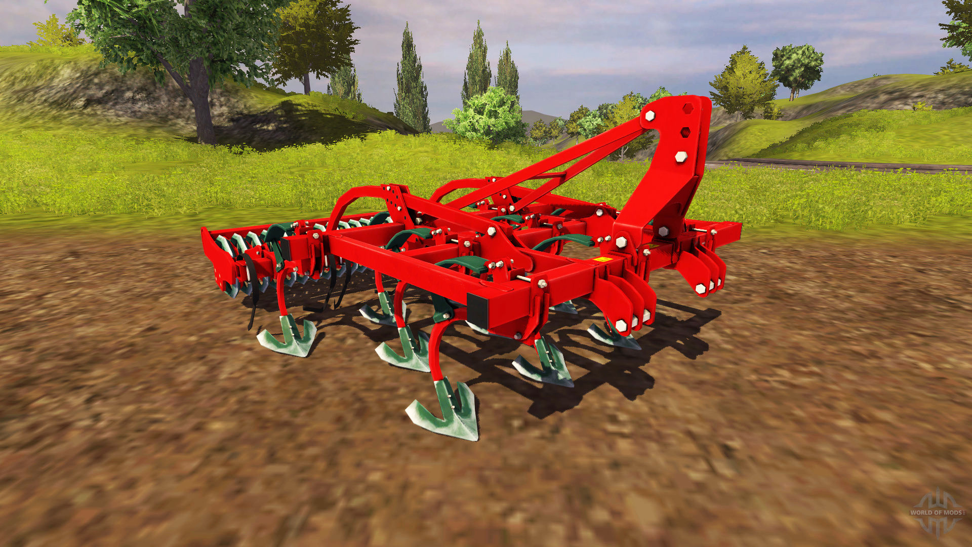 Totary Cultivator Implement
