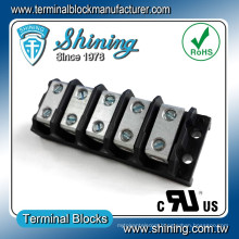 TGP-050-05BSS 50 Amp 5 Way Industrial Power Terminal Connector