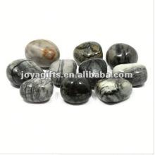 Tuiles en pierre de galets à haute pierre poli