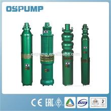 QJ-Serie Unterwasser-Bohrlochpumpen Tiefbrunnen Wasserpumpe