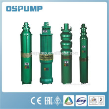 QJ series submersible borehole pumps deep well water pump