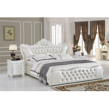 Bedroom Bed Furniture Soft Leather Bed