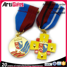 Custom die cast factory direct sales medals badge