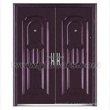 Bild Rahmen Stahltür außen kommerzielle Doppel Tür