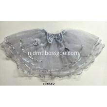 Gray Tutu Party Skirt