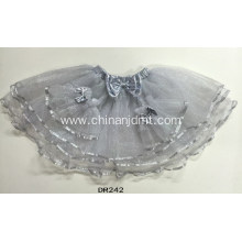 Gray Tutu Party Skirt