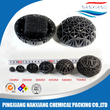 Aquariums Bio Ball Filter Plastic Pp Pvc Cooling Tower Fill Packing Media Round And Rectangle Cooling Tower PVC